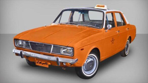 تاکسی خطی آزادی ونک - پیکان نارنجی