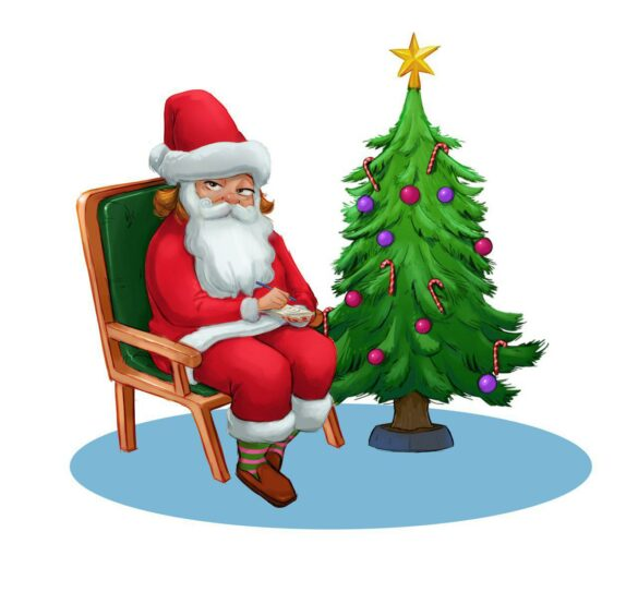 عمه و کریسمس