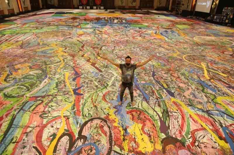 آفرینش بزرگترین اثر نقاشی جهان در دبی