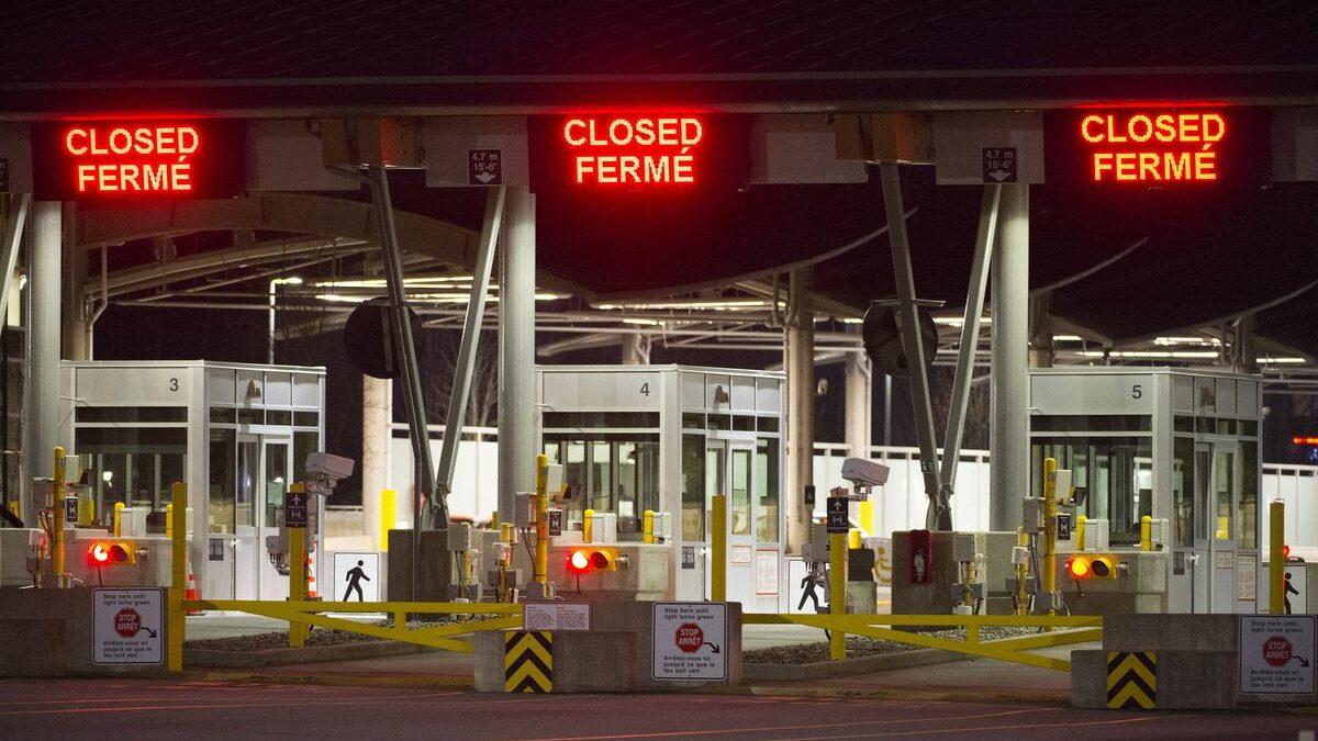 تنش در مرز کانادا و آمریکا