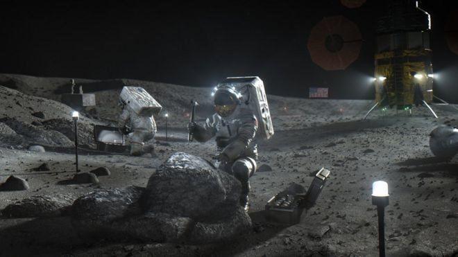 اولین فضانورد زن تا ۲۰۲۴ به ماه خواهد رفت
