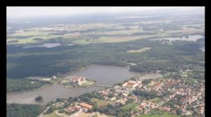 قصر موریتزبرگ، تصویر هوایی