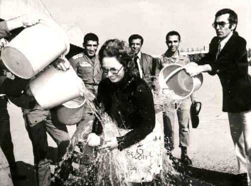 اولین پرواز سلو در مهر ۱۳۵۴ فرودگاه قلعه مرغی