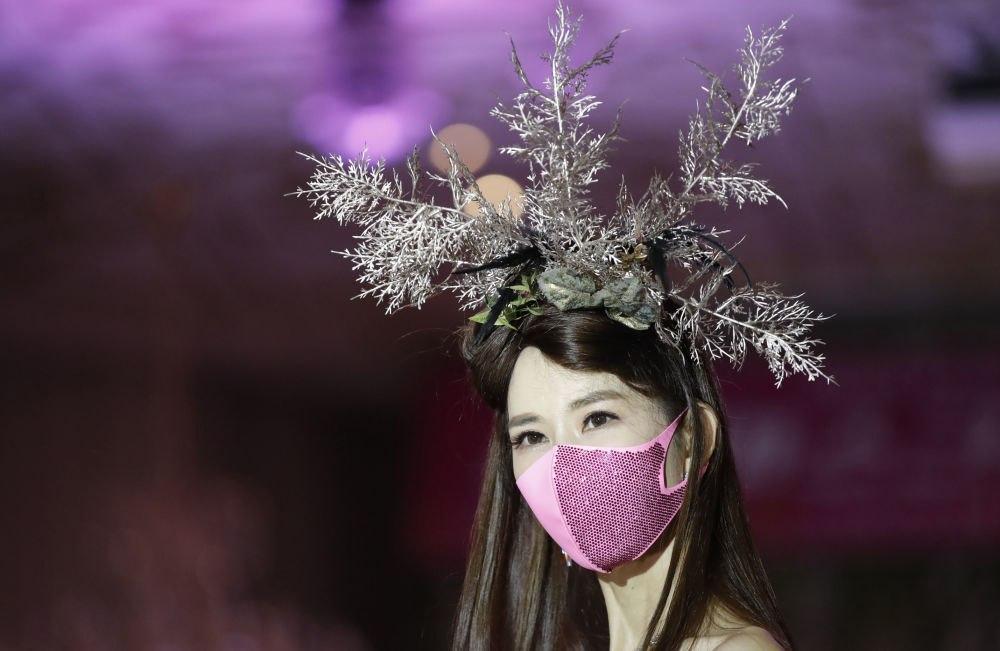 اولین نمایش مد ماسک کوویدی در سئول برگزار شد