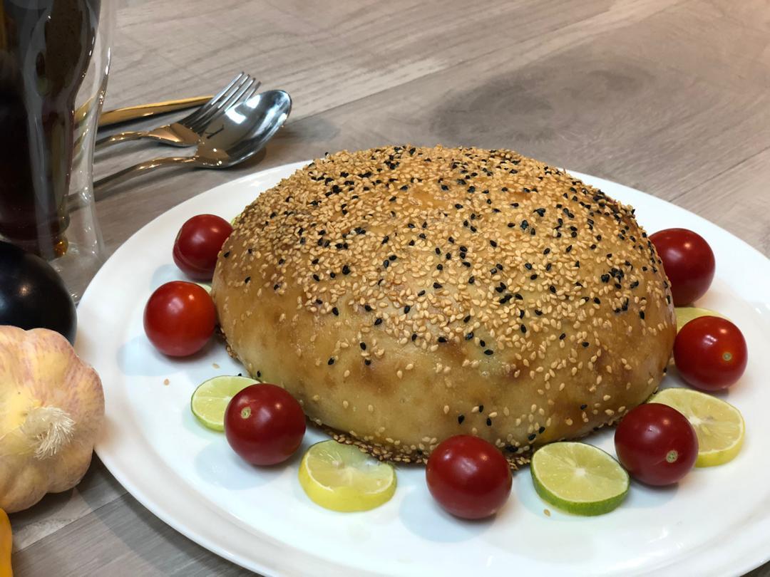 نان پر شده با پاستا