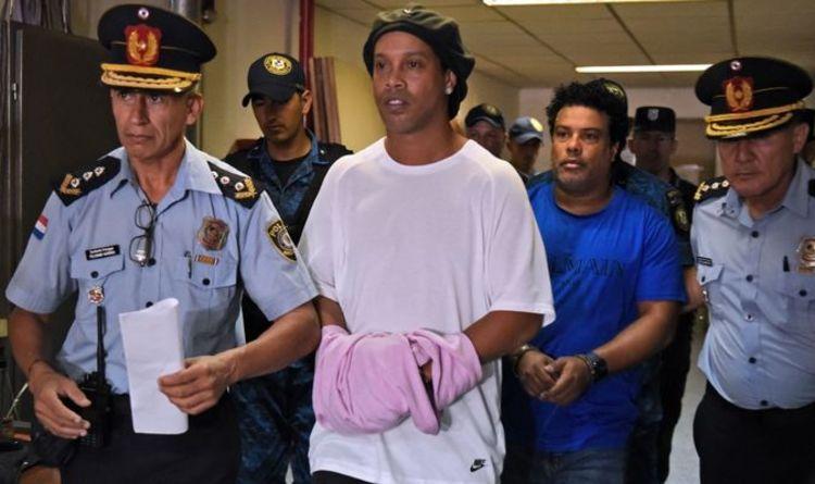 رونالدینیو پس از ۵ ماه از زندان آزاد می شود