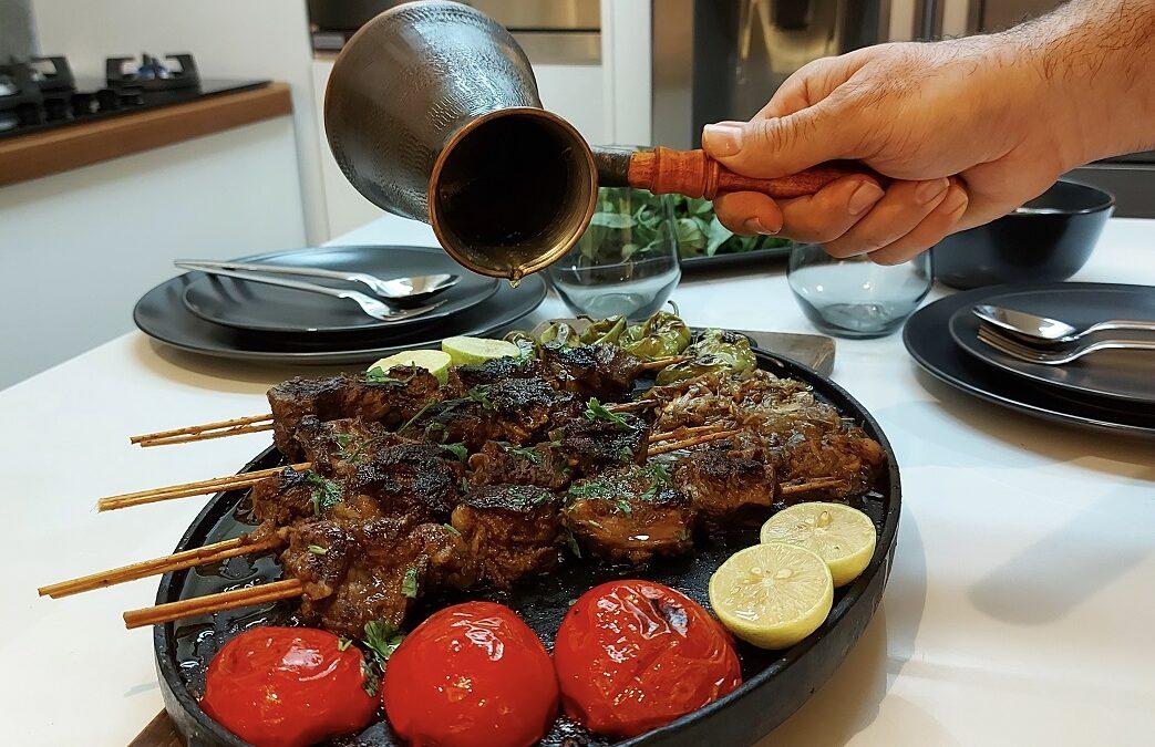 کباب دو پیازه مخصوص با گوشت دنده گوساله
