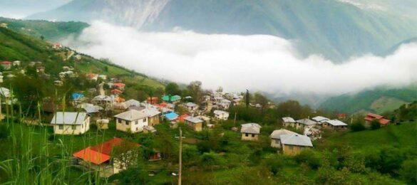 روستایی در شمال ایران