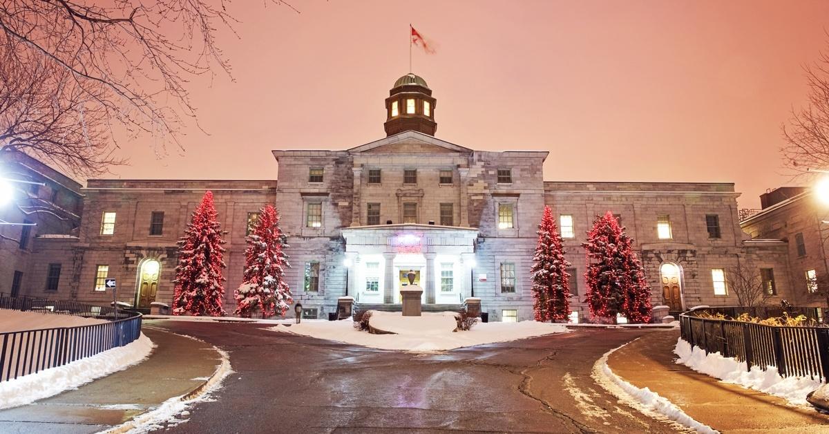 آشنایی با دانشگاه های کانادا: دانشگاه مک گیل