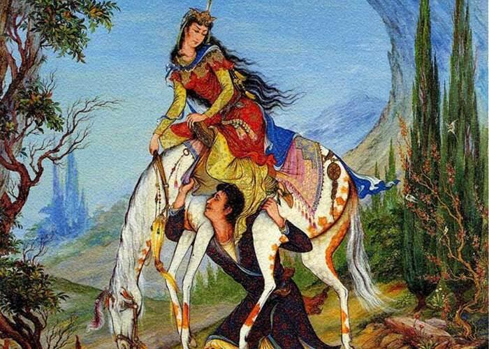 نقش زن در اشعار کهن فارسی
