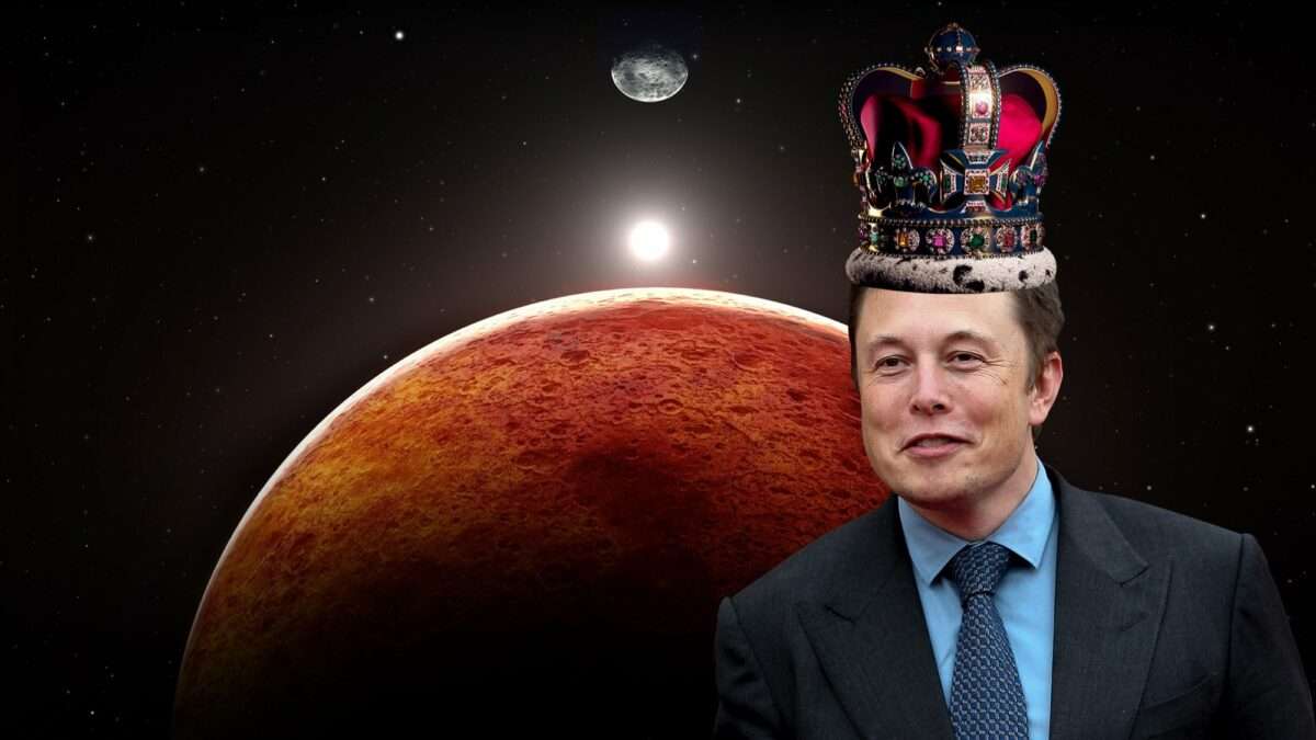 ایلان ماسک و شهرک سازی بر روی مریخ