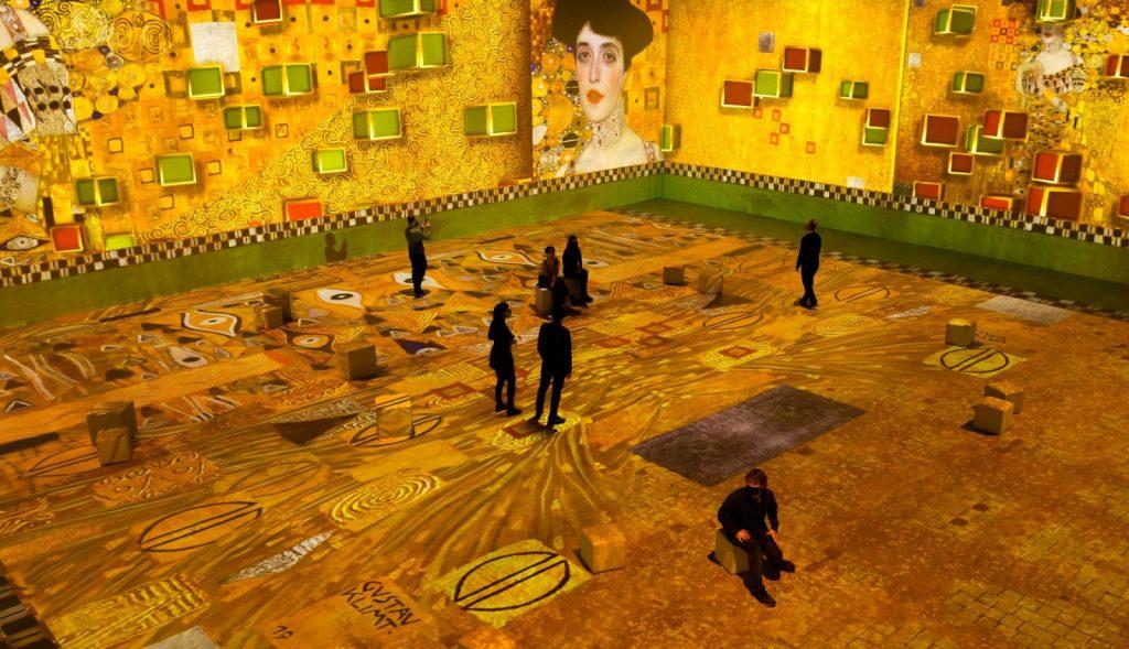 آثار سه بعدی گوستاو کلیمت در تورنتو
